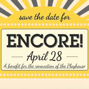 Encore! Fundraiser