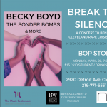 Break the Silence: A Concert to Benefit Cleveland Rape Crisis Center at the BOP STOP