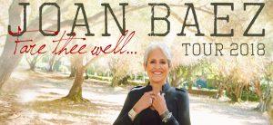 Joan Baez Fare Thee Well... Tour 2018