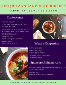 ABC 3rd Annual Chili Cook Off
