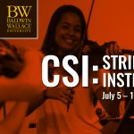 BW Conservatory Summer String Institute