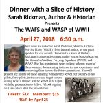 Dinner with a Slice of History