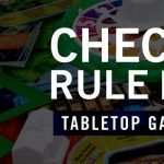 Check the Rule Book: Tabletop Gaming Night
