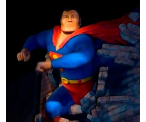 Daytime Coffee Talk: In the Gallery on Superman