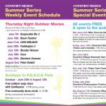 Thursday Night Outdoor Movies (Aug 2: Peter Rabbit)