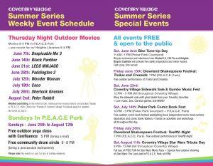 Thursday Night Outdoor Movies (Aug 2: Peter Rabbit...