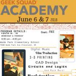 Geek Squad Academy Summer Tech Camp: June 6 & 7