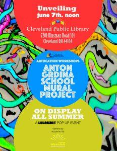 Artucation Spring Workshops: Anton Grdina Mural Pr...