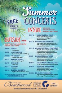 Summer Indoor Concerts: Free & Open to All