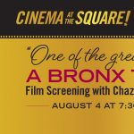 """A Screening of """"A Bronx Tale"""" with Chazz Palminterie"""