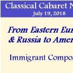 Classical Cabarets Nos. 20 & 21
