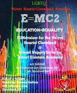 E=MC2 Education+Equality