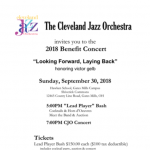 "Cleveland Jazz Orchestra Annual Benefit ""Looking Forward, Laying Back"""