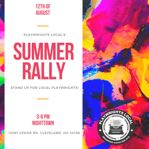 """Playwrights Local's """"Summer Rally"""""""