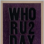 Who RU2 Day: Mass Media and the Fine Art Print