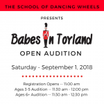 Babes in Toyland: Open Audition!