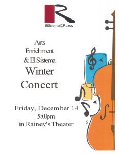 Arts Enrichment & El Sistema Winter Concert