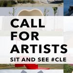 CALL FOR ARTISTS! Sit and See #CLE