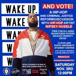 Wake Up and Vote