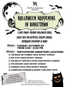 The Music Settlement's Halloween Happening at Hingetown