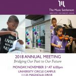 The Music Settlement 2018 Annual Meeting