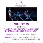 The Music Settlement's Arts for Us Concert featuring Inlet Dance Theatre