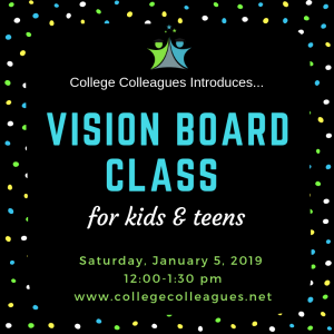 VISION BOARDS FOR KIDS AND TEENS