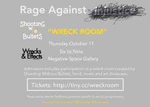 Rage Against Injustice (Shooting w/o Bullets)