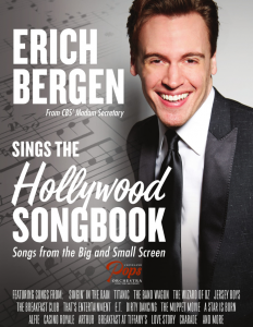 """Erich Bergen - The Hollywood Songbook """"Songs from ..."""