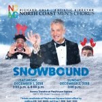 "Holiday concert ""SNOWBOUND"" performed by North Coast Men's Chorus"
