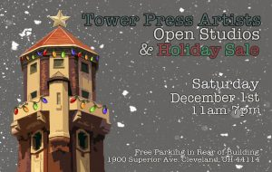 Tower Press Annual Holiday Show, Sale and Open Stu...
