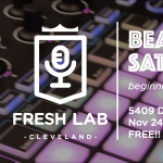 Beat Making Workshops at Fresh Lab Cleveland.