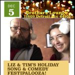Liz Huff & Tim Cornett - Holiday Music & Comedy at Brothers Lounge!