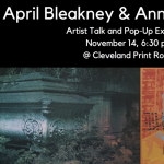 April Bleakney & Anna Tararova Artist Talk and Pop-Up Exhibition