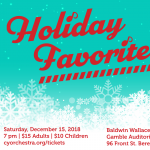 Holiday Favorites with Contemporary Youth Orchestra