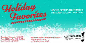 Holiday Favorites with Contemporary Youth Orchestr...