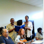 Seniors on the move Music Therapy