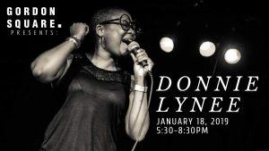 Gordon Square Presents: Donnie Lynee