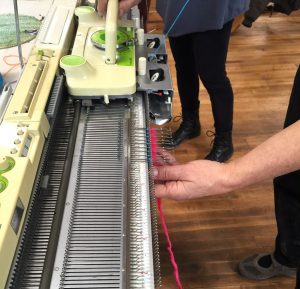 Into to the Knitting Machine