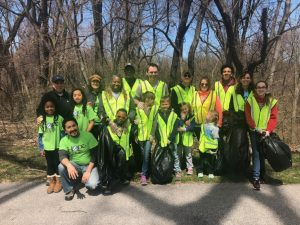 Doan Brook Rockefeller Park Stream Sweep