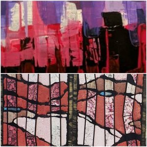 Exhibition of Abstract Work by Kathy Kijek and Gary Nass