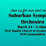 Verdi and Brahms - Suburban Symphony Orchestra