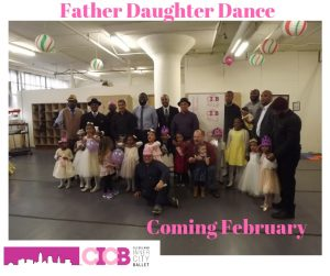 Cleveland Inner City Ballet 2nd Annual Father Daug...