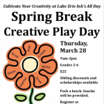 Spring Break Creative Play Day