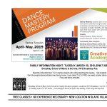 Tri-C Dance Mastery Community Program Slavic Village Family Information Night