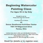 Beginning Watercolor for Ages 55+