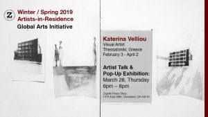 Katerina Velliou Pop-Up Exhibition