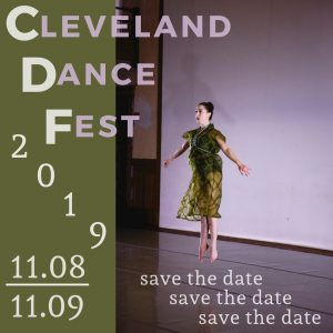 PAID CHOREOGRAPHIC OPPORTUNITY! Cleveland Dance Fest 2019 - Apply Today!