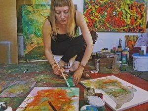 Artist Reception for Lila Rose Kole in Hudson