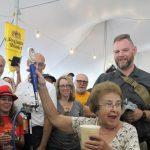 Lenau Park's Annual Sommer Oktoberfest Keg Tapping Ceremony